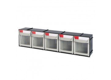 STORAGE SYSTEM - FLIP OUT 5 DRAWER