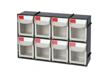 STORAGE SYSTEM - FLIP OUT 8 DRAWER