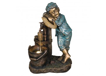 BOY N TAP 71CM WATER FEATURE